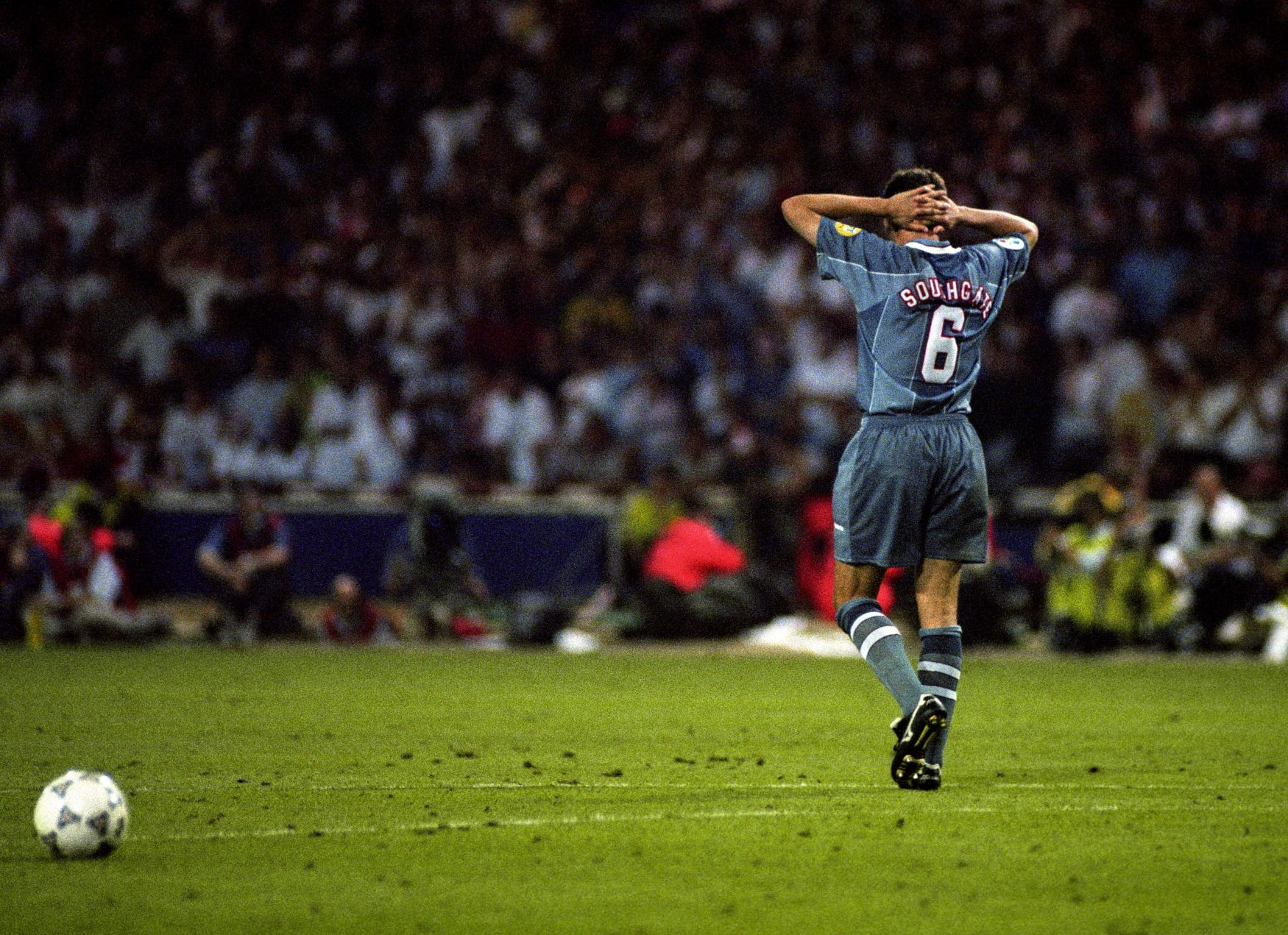 Image result for euro 96 gazza miss